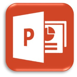 a picture of the Microsoft Powerpoint icon
