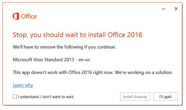 Upgrading to Office 2016 - What Project and Visio users need to know